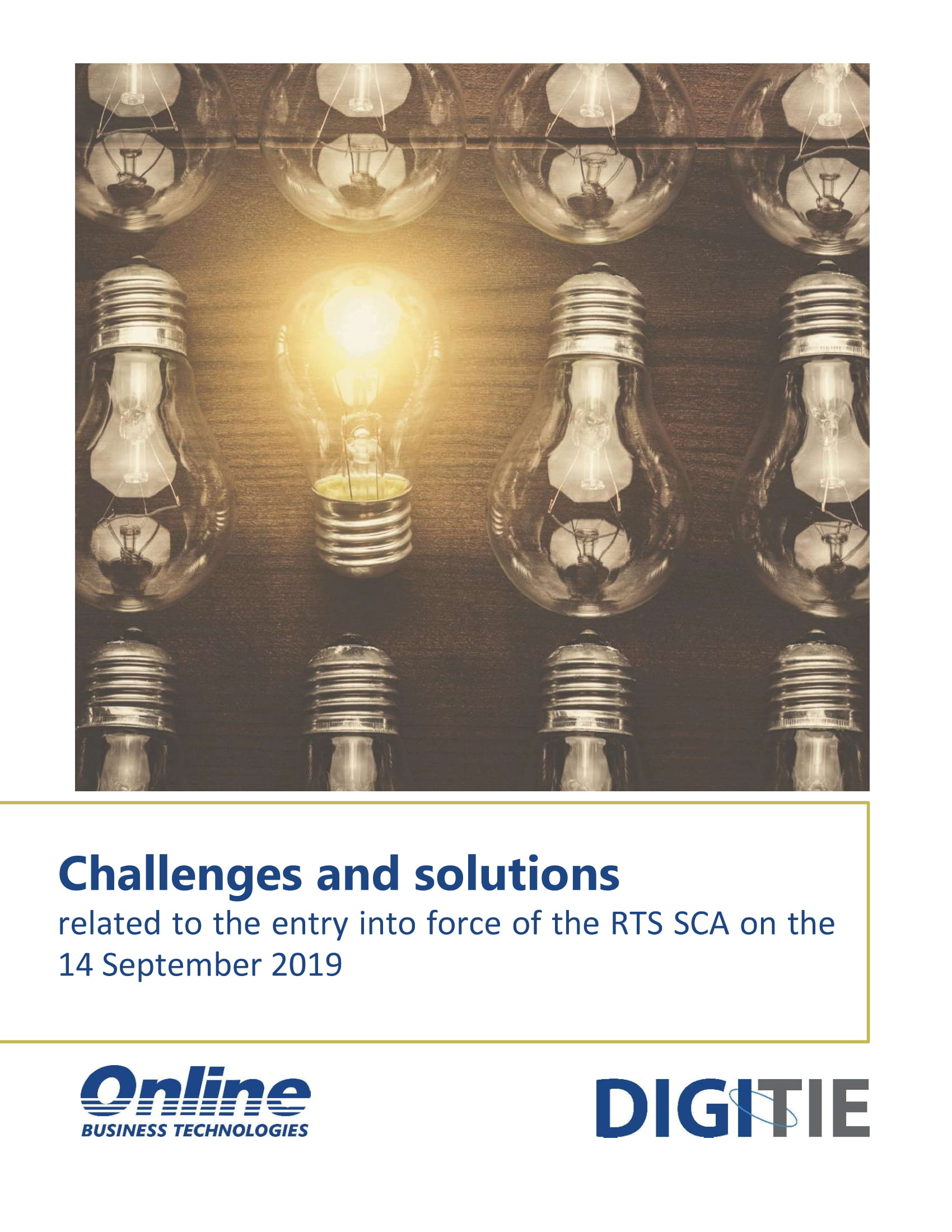 Challenges and solutions for meeting the requirements of RTS SCA